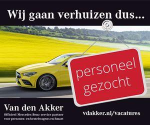 Autobedrijf Vd Akker Banner Personeel gezocht Website