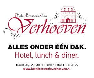 Banner Hotel Brasserie Verhoeven Website