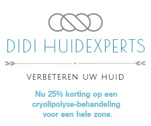 Banner Didi Huidexperts 2021 +ACTIE cryolipolyse Site
