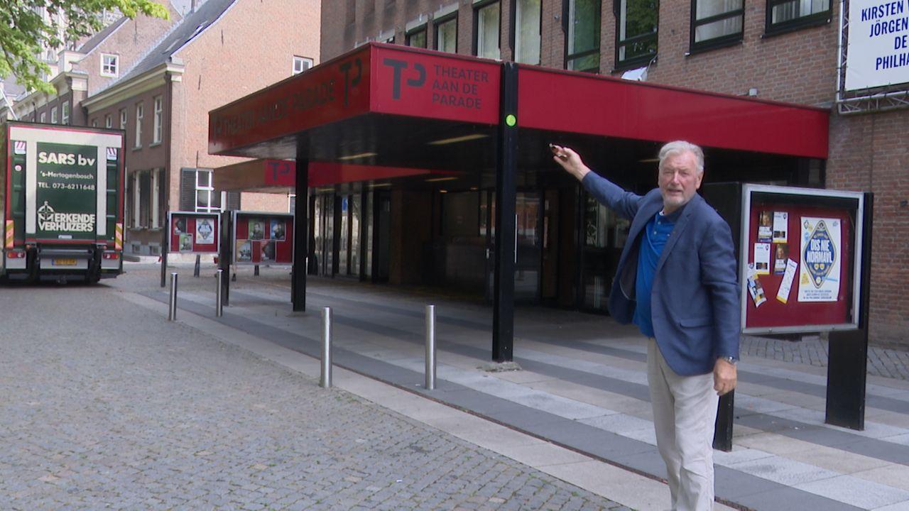 Nieuwe Theater aan de Parade 'te groot, te stevig en trekt teveel aandacht'