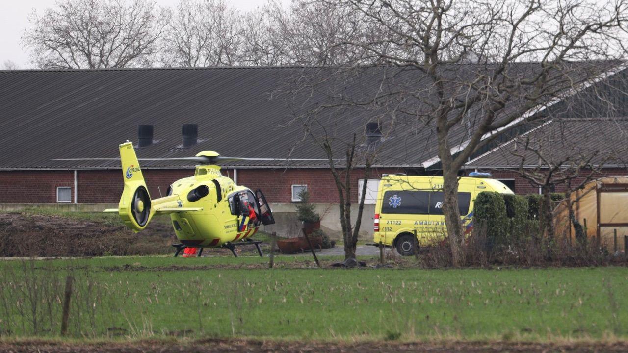 Dodelijk ongeval bij agrarisch bedrijf in Loosbroek