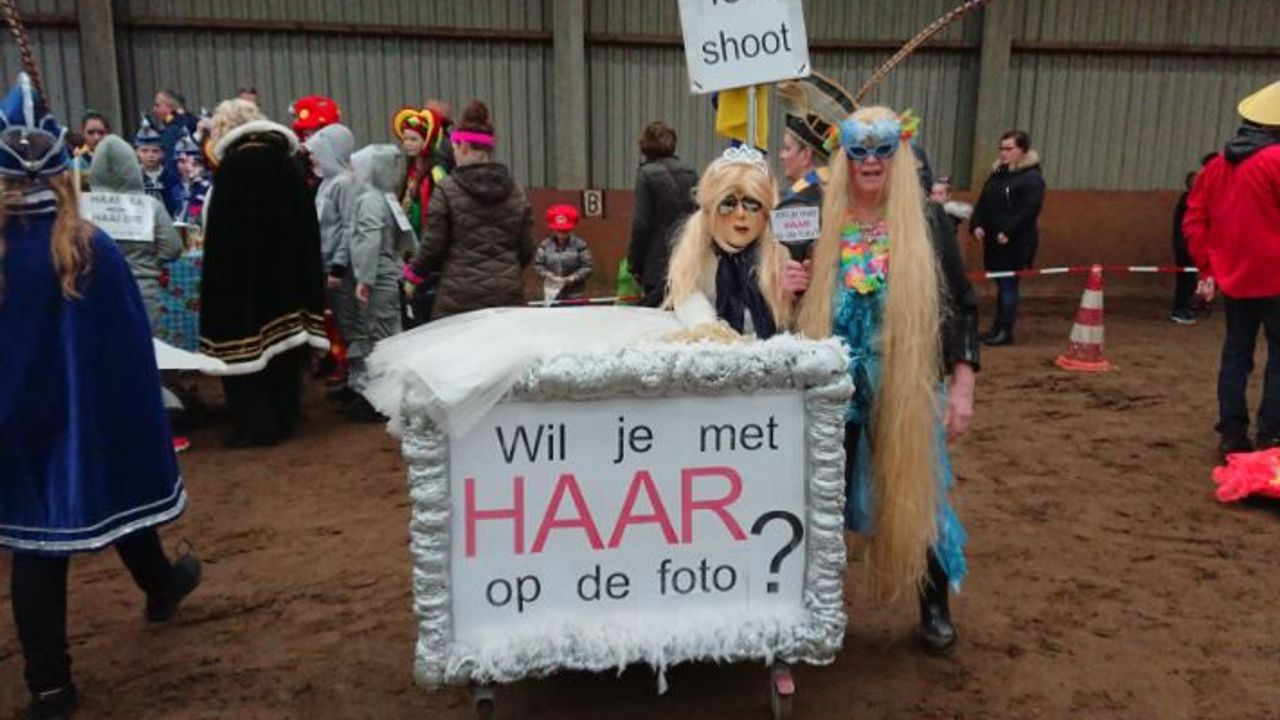 Toch een beetje carnaval dit jaar in Heeswijk-Dinther