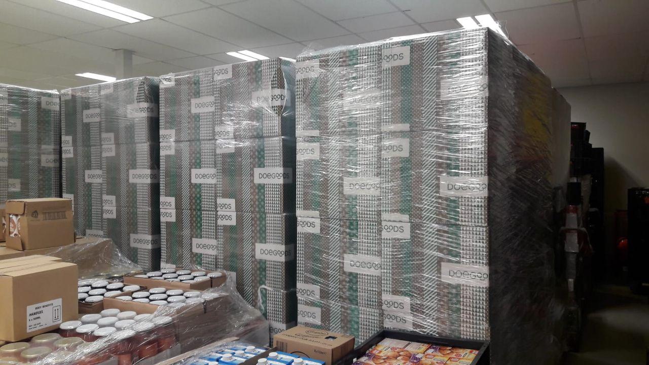 Nepcollecte voor voedselbank Oss: 'Schande dat onze goede naam wordt misbruikt'