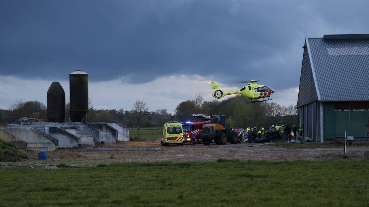 Man raakt ernstig gewond bij ongeval op boerderij in Zeeland