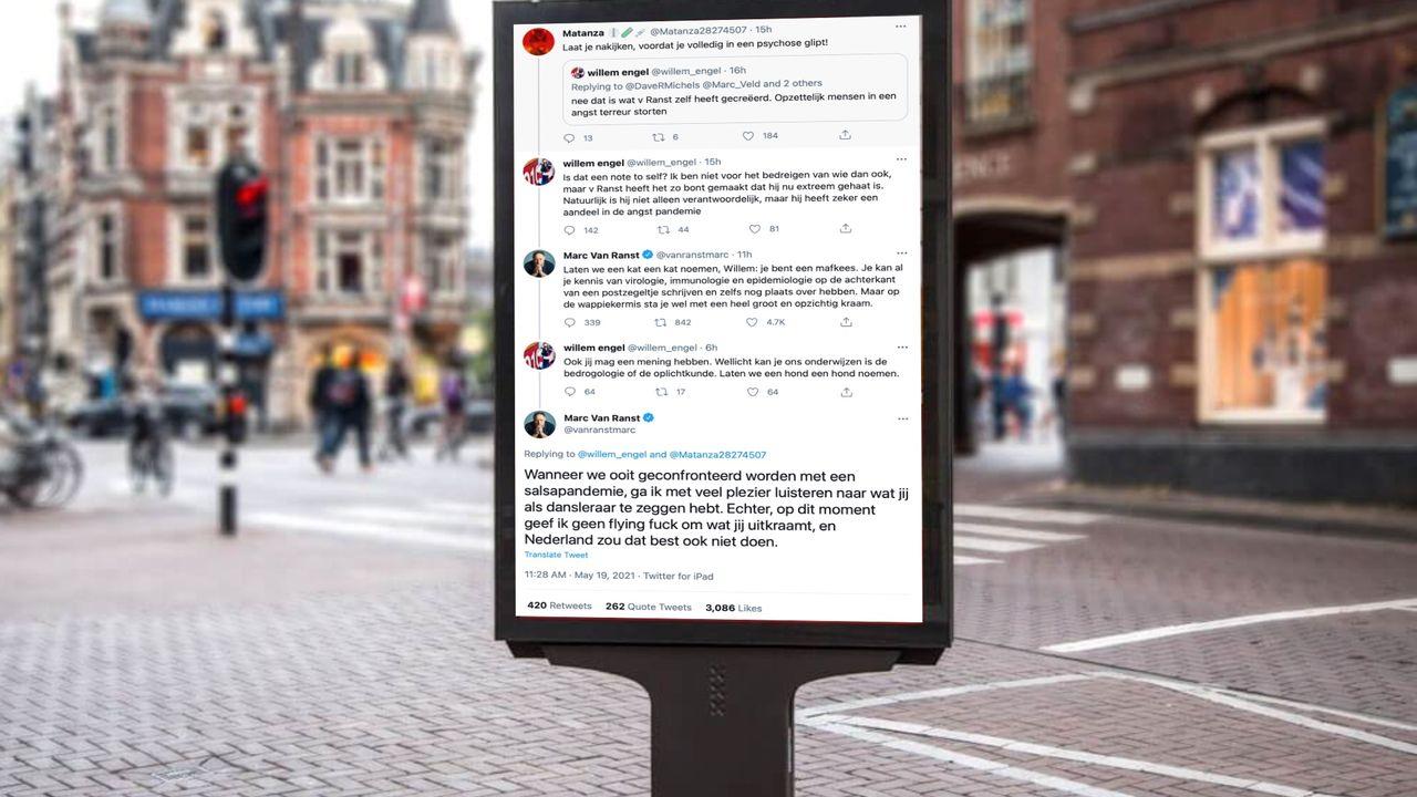 Alexander Klöpping start crowdfunding om Belgische ondergedoken viroloog te steunen