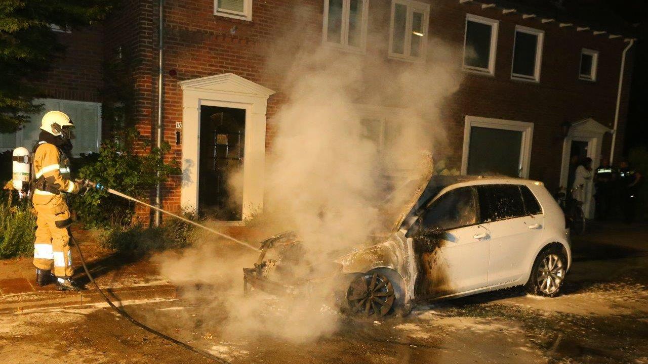 Ook autobrand in Den Bosch