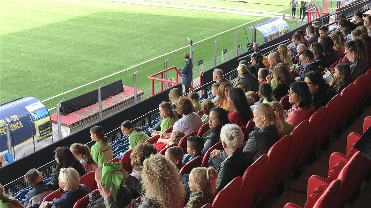 TOP Oss-FC Den Bosch op dinsdagavond 20 oktober
