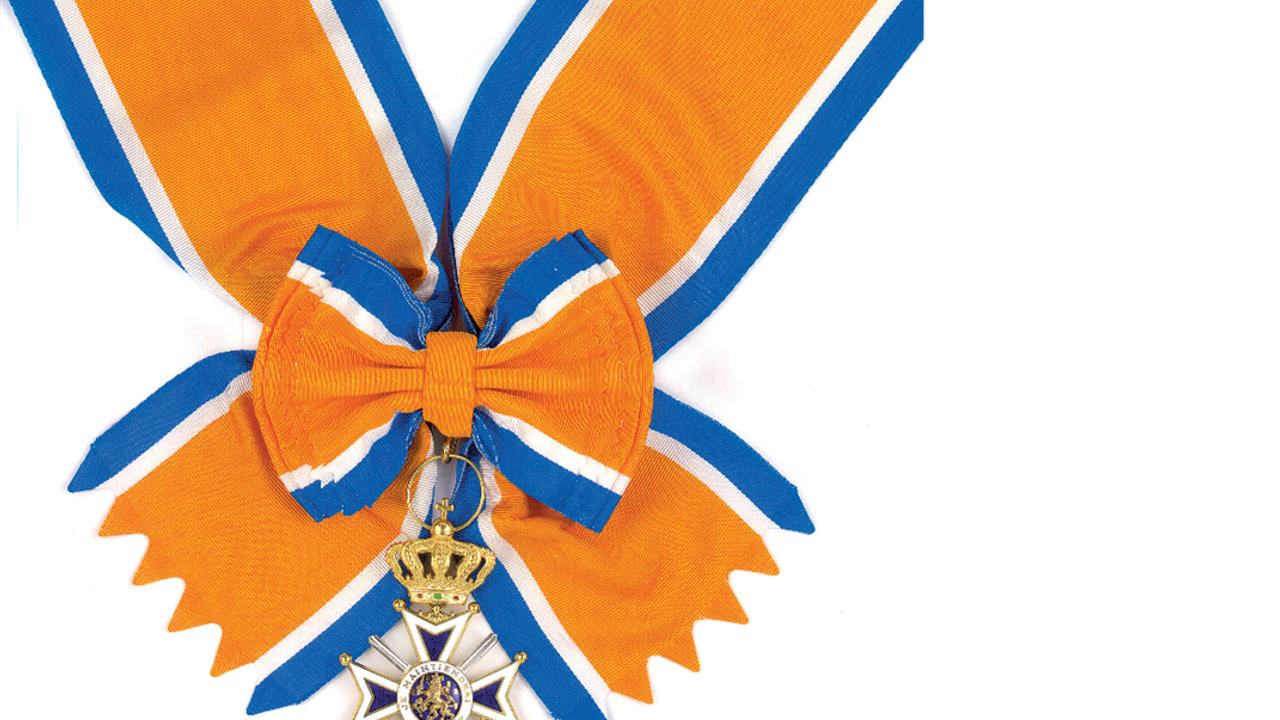 Cor van Gerven koninklijk onderscheiden bij afscheid KW1C