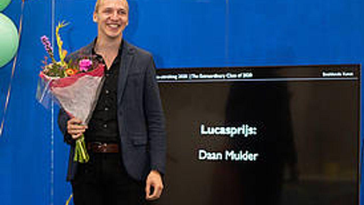 Afgestudeerde Daan Mulder wint Lucasprijs