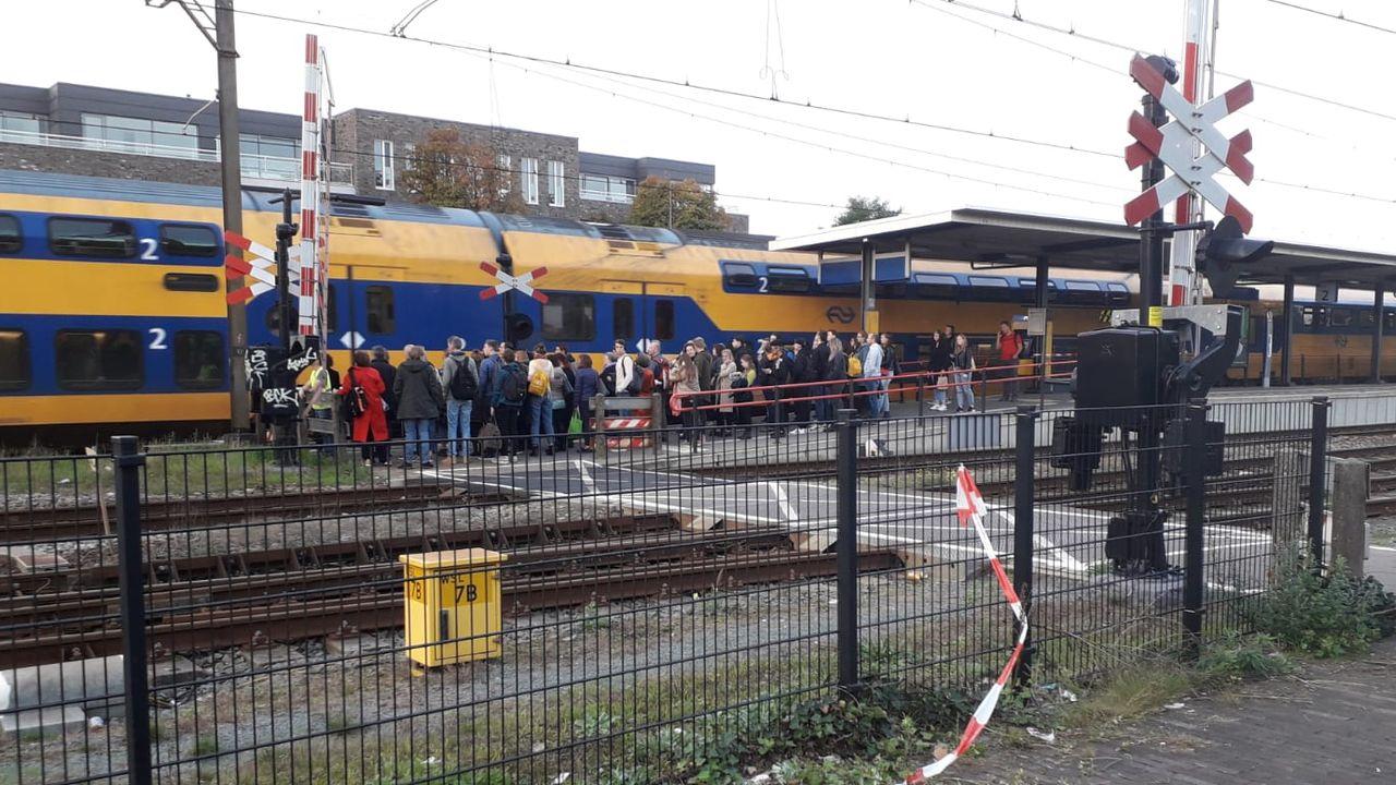 'Gestrande trein mede oorzaak van chaos in Oss'