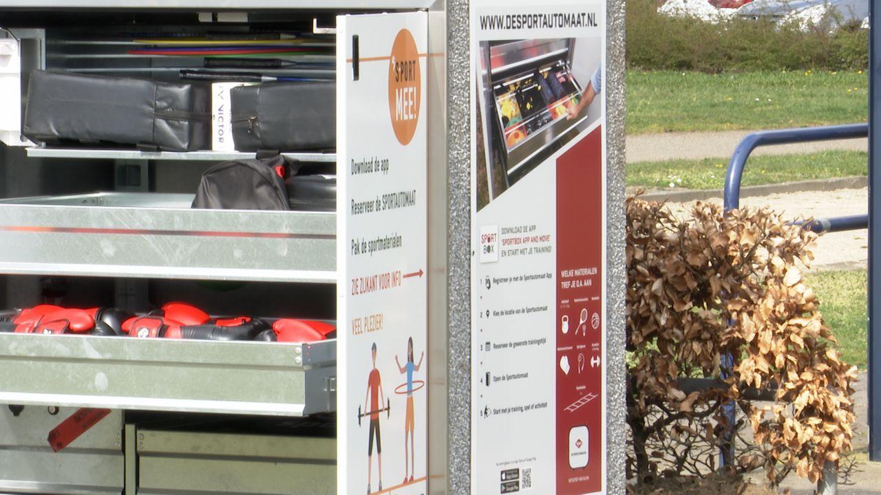 Eerste Sportautomaat van Nederland geplaatst in Den Bosch