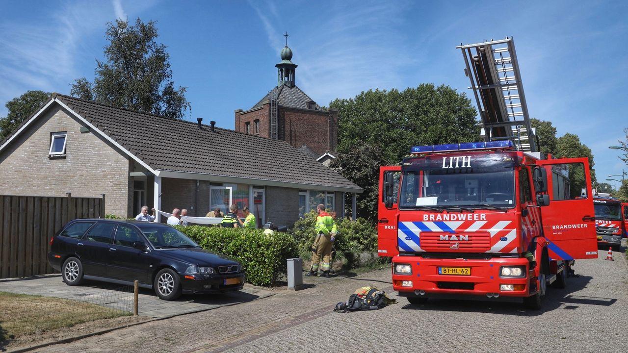 Man gewond bij brand in bungalow Maren-Kessel