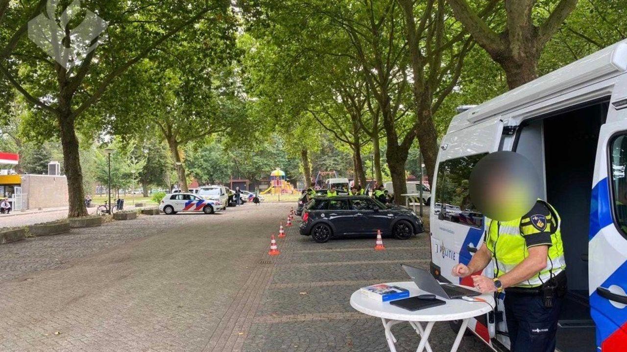 48 bekeuringen tijdens grote controle in Den Bosch