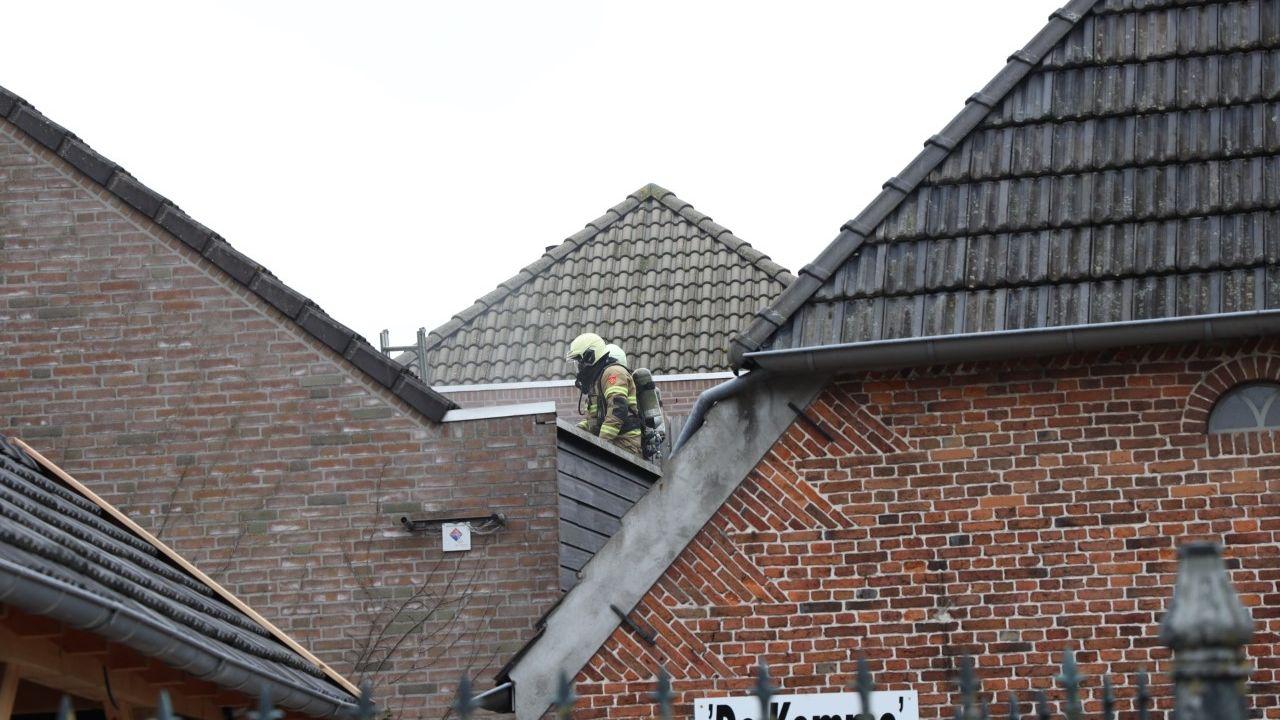 Brand in magazijn Bento in Schaijk