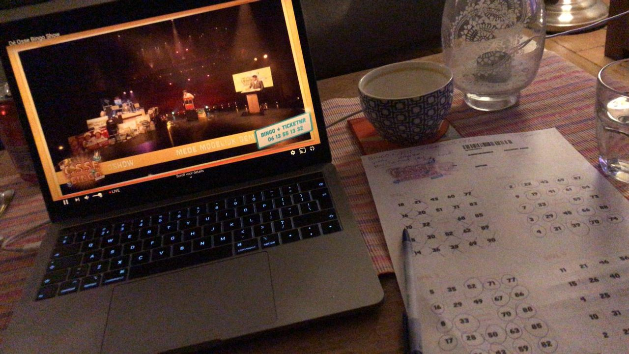 Osse online Bingoshow levert 26.000 euro op