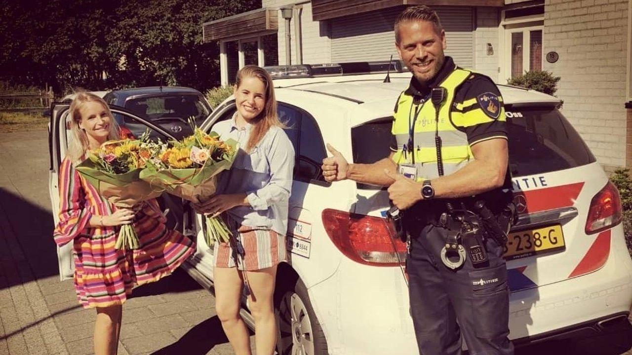 Politie Oss eert redders in de nood