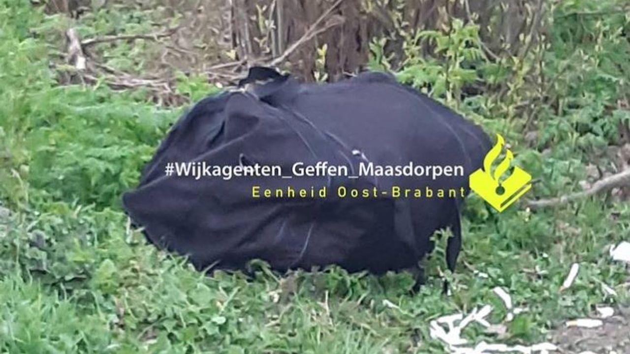 Politie laat verdachte sporttas liggen