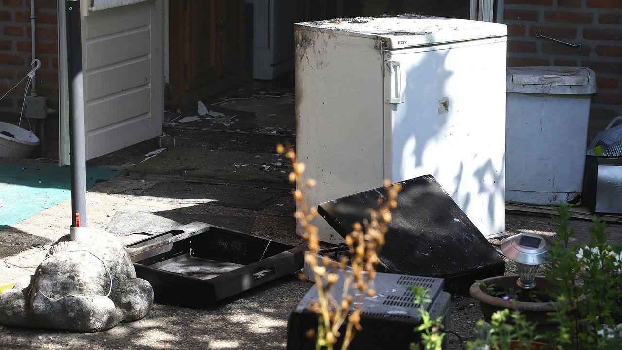 Keuken van woning in Oss uitgebrand