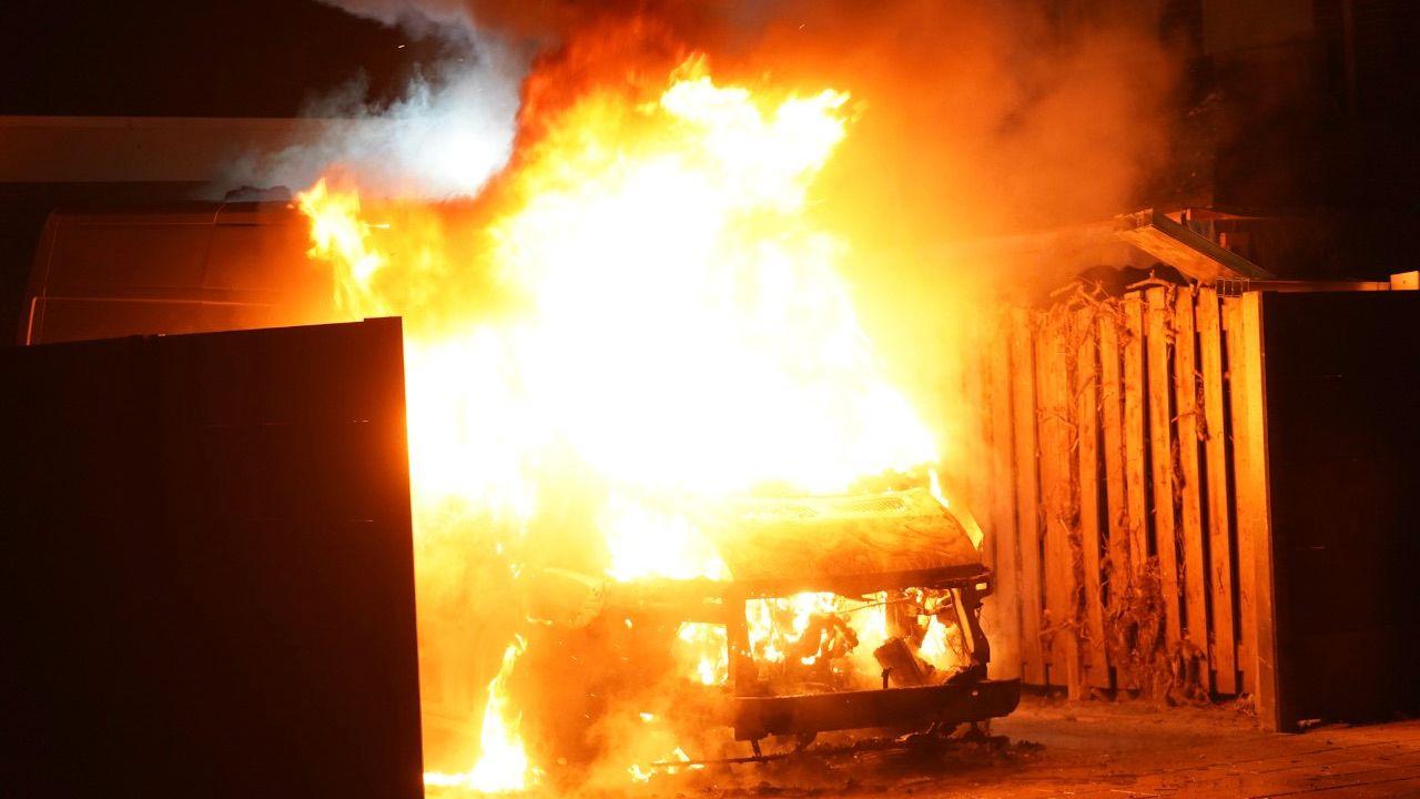 Derde autobrand in week tijd in Oss