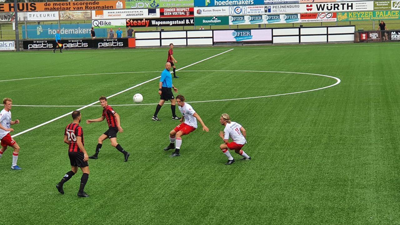 OJC onderuit in eerste wedstrijd van het seizoen