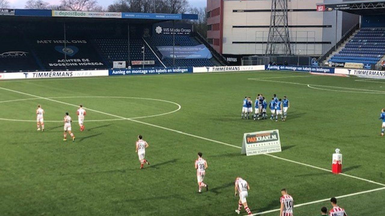 Liveblog: Hornkamp schiet Den Bosch in blessuretijd naar zege in derby
