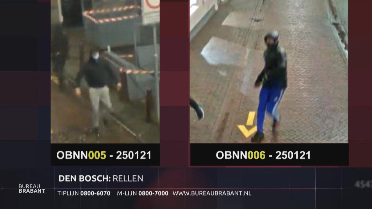 Politie zoekt twee mannen die stenen gooiden tijdens avondklokrellen in Den Bosch