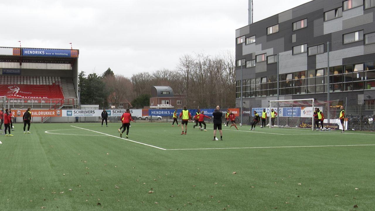 TOP Oss wijzigt basiself tegen FC Dordrecht