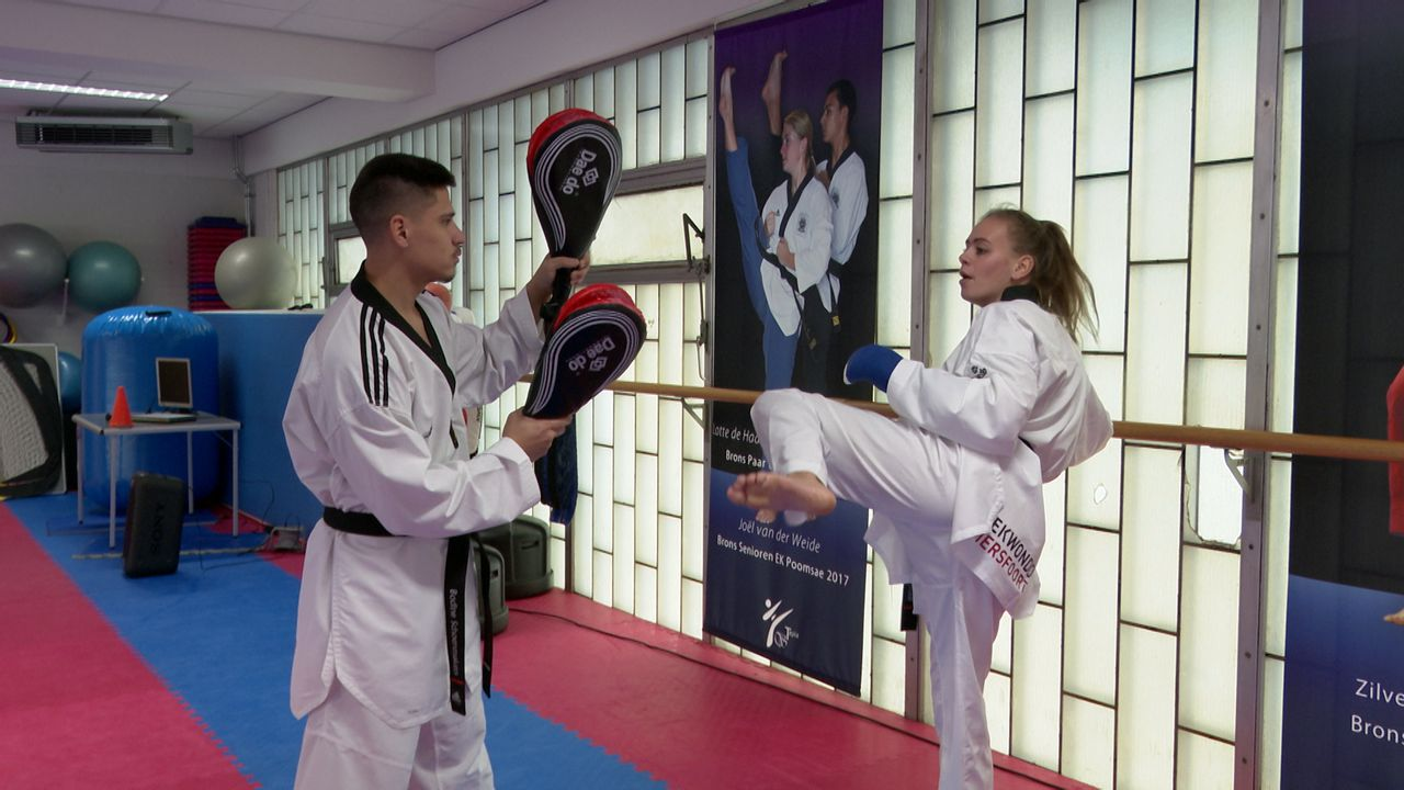 Taekwondoka Bodine Schoenmakers ambassadeur SEC
