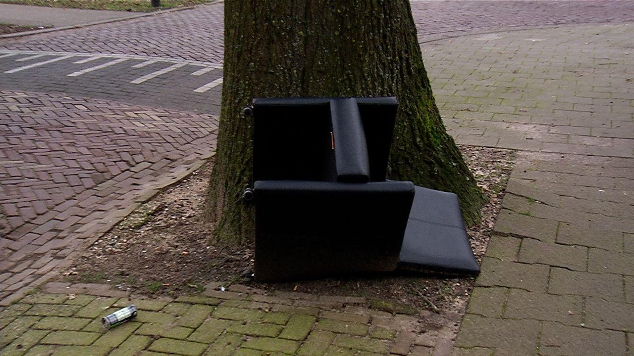 Hogere kosten voor grof afval, dus zorgen om meer zwerfafval in Schadewijk