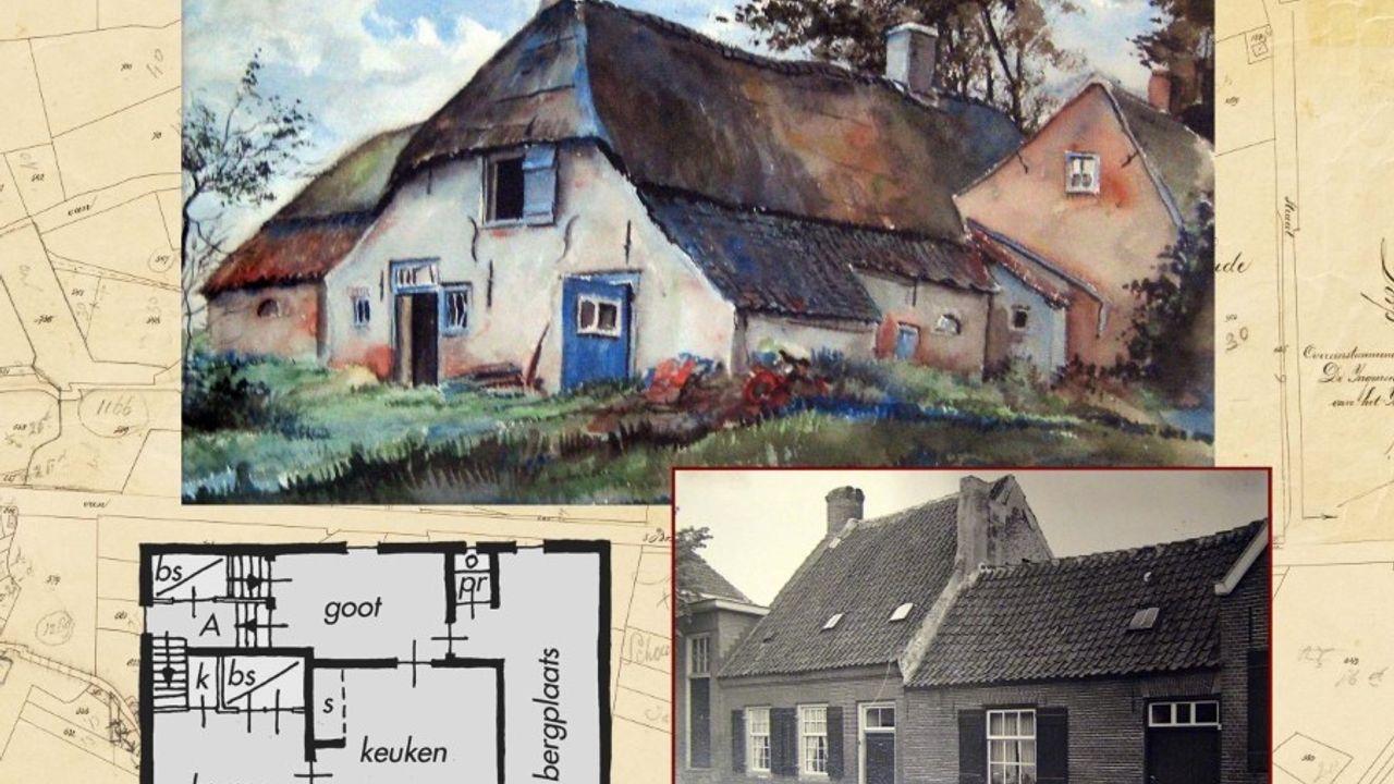 Geschiedenis van gebouwen in Hintham gebundeld in boek