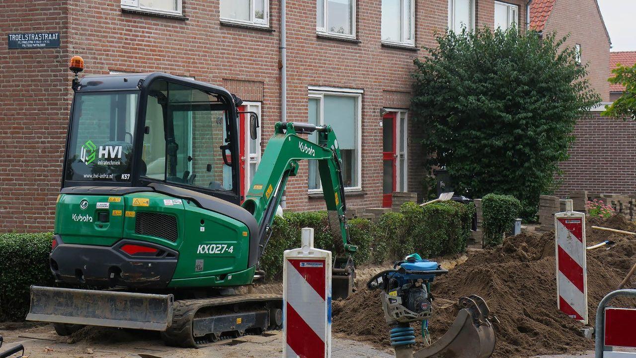 Woningen ontruimd na gaslek Thorbeckestraat in Oss