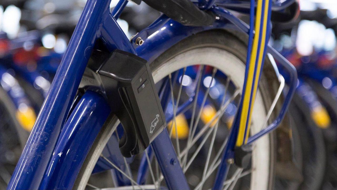 OV-fietsen in Den Bosch met chipkaart als sleutel