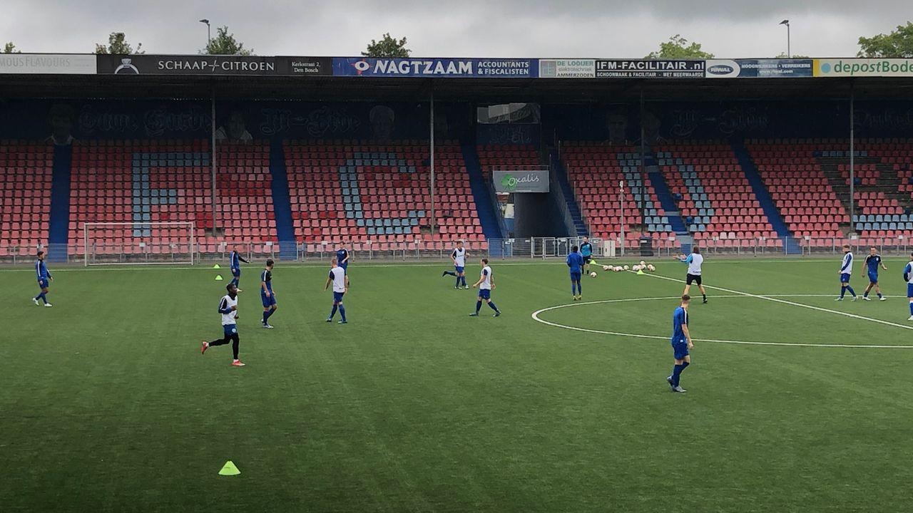 Spelers FC Den Bosch terug op het voetbalveld: 'Het was wel meteen aanpoten'