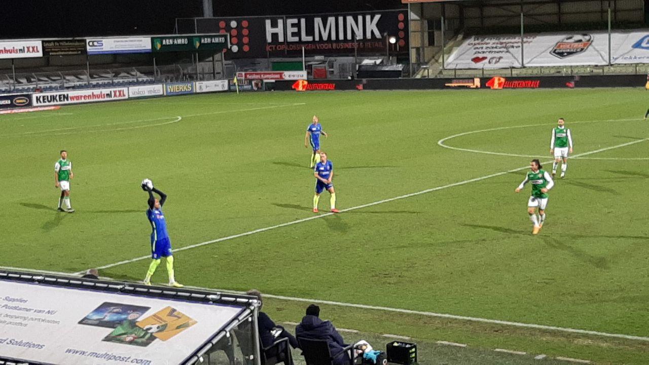 TOP Oss sleept overwinning uit het vuur in Dordrecht: 1-3