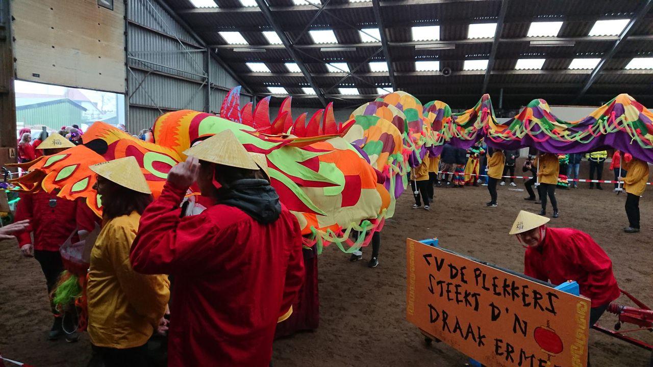 Snevelbokken zetten 'de tuin op zunne kop' met carnaval