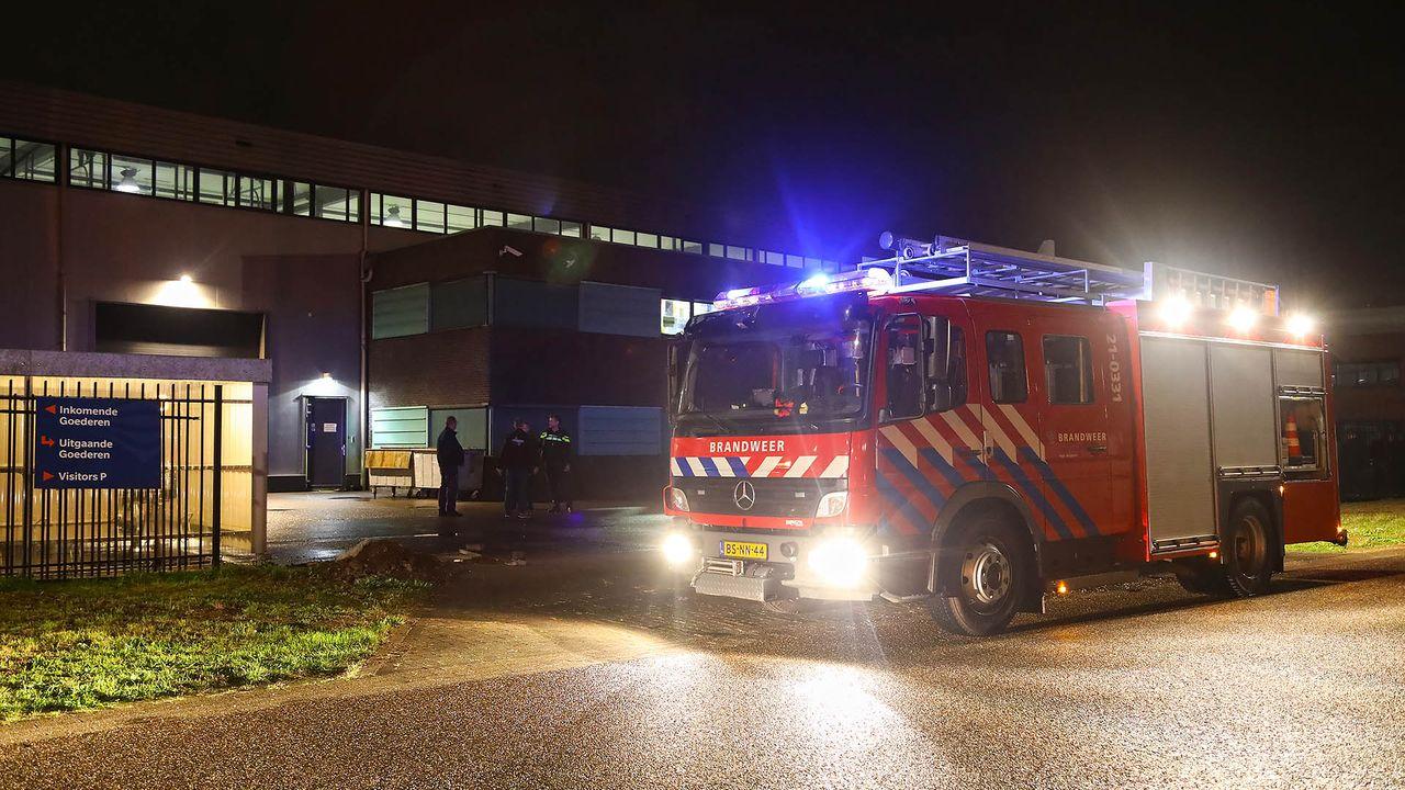 Brandmelding industrieterrein De Geer blijkt pelletkachel