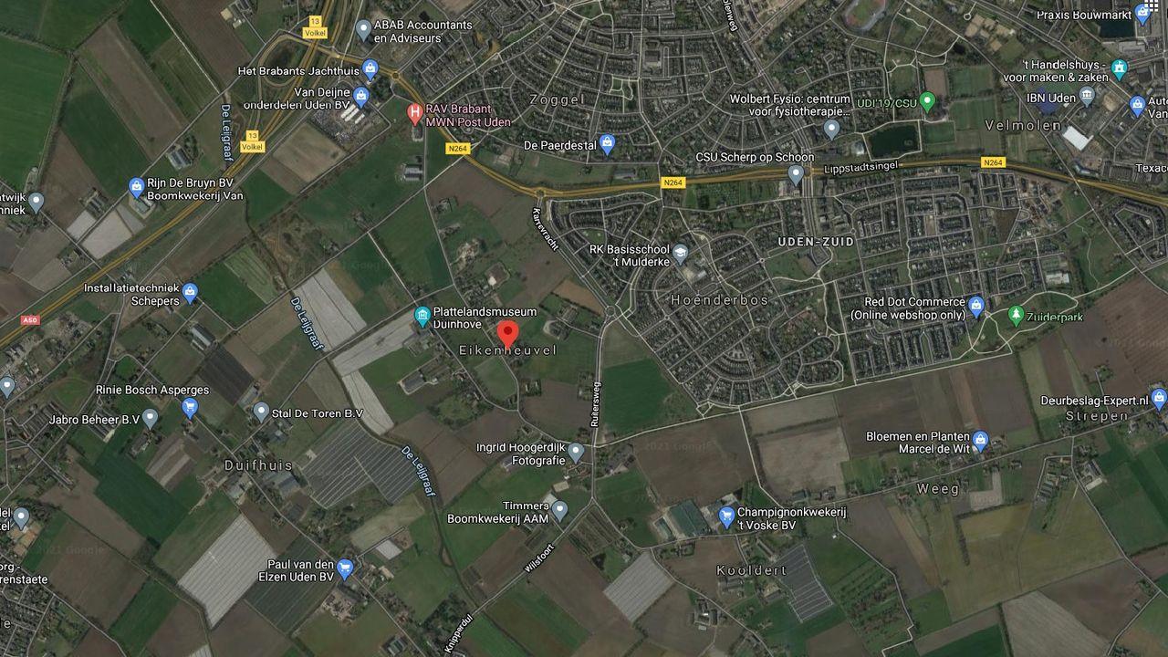 Bouw van 'tussen de 325 en 375' nieuwe woningen in wijk Eikenheuvel in Uden