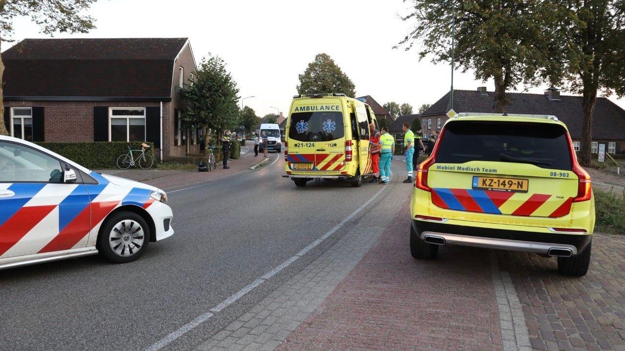 Vrouw zwaargewond bij ongeval in Nistelrode