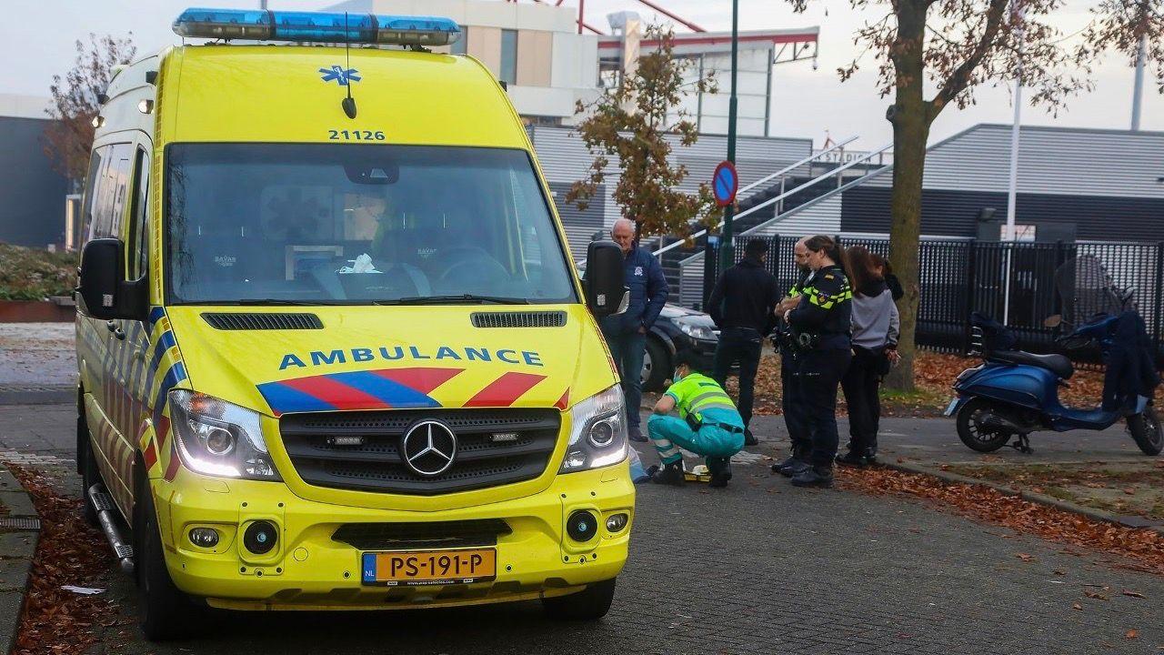 Meisje op fiets gewond bij aanrijding met scooter in Oss