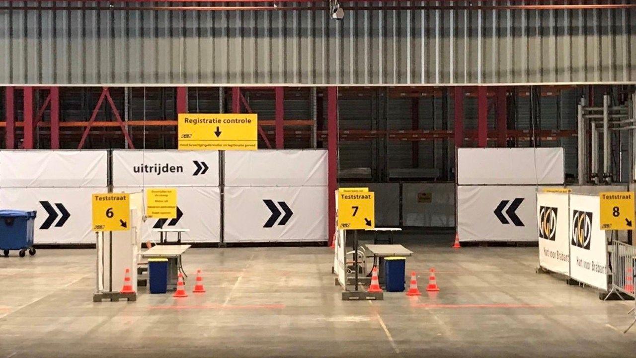 GGD coronatestlocatie in Uden verhuist naar Vluchtoord