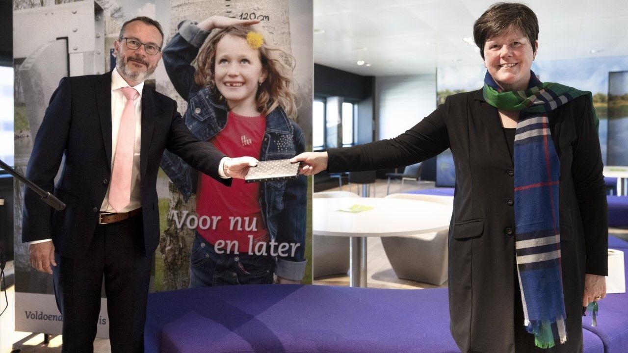 Nieuwe dijkgraaf Mario Jacobs geïnstalleerd