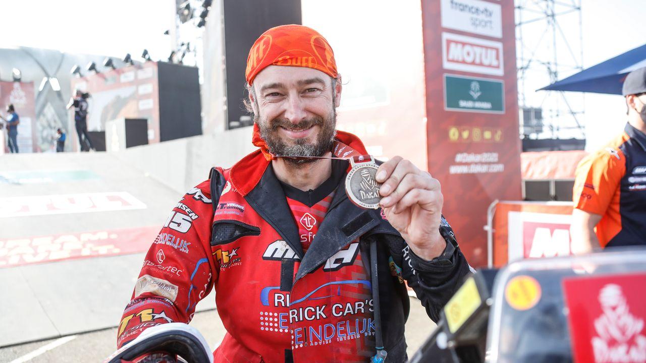 Motorcoureur Olaf Harmsen weet tweede Dakar-rally wél uit te rijden: 'Bewust rustig aan gedaan'
