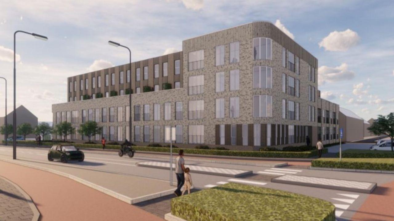Appartementencomplex in de Rijnstraat is tegen het zere been van omwonenden