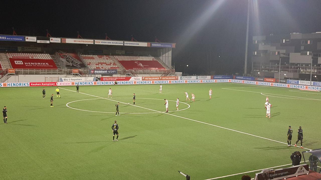 Negatieve reeks TOP Oss kent ook tegen Go Ahead Eagles geen einde