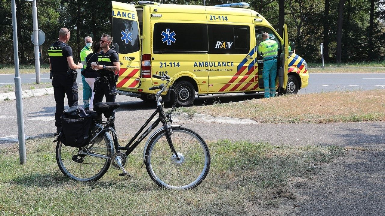 Fietser gewond bij aanrijding op Ruwaardsingel in Oss