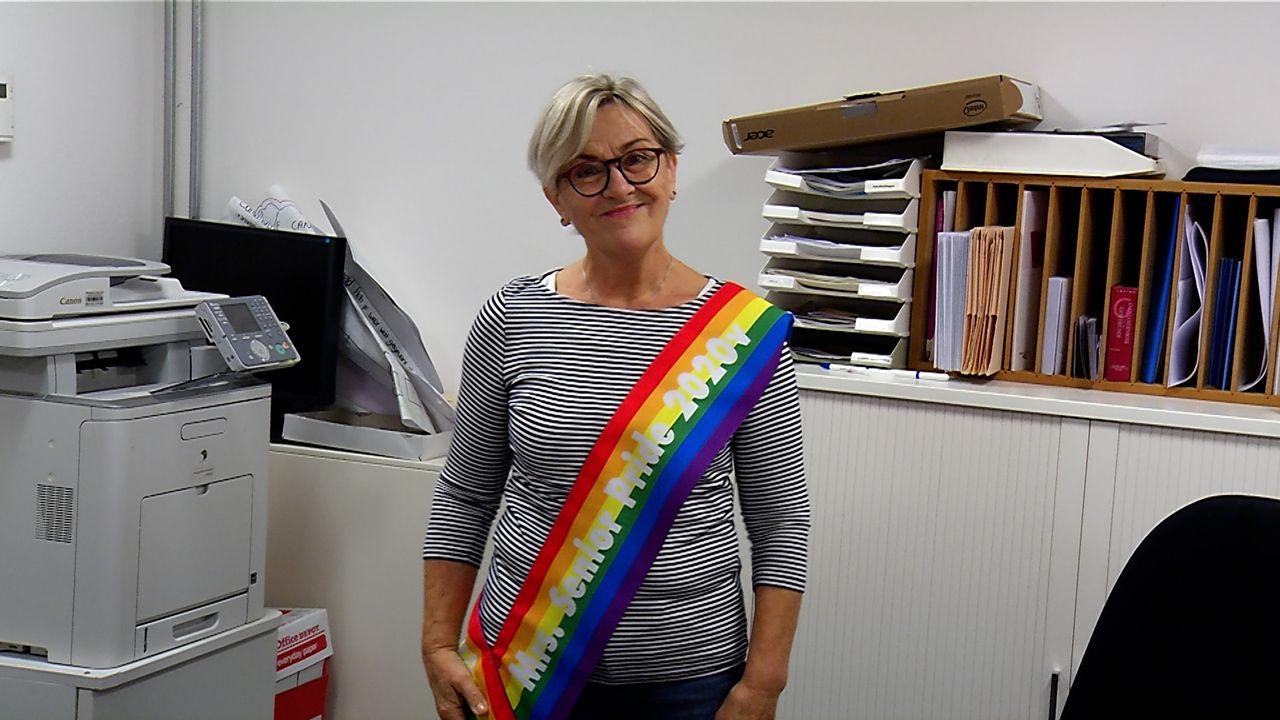 Osse Lenie verkozen tot Mrs Senior Pride 2020; 'Het is fantastisch'