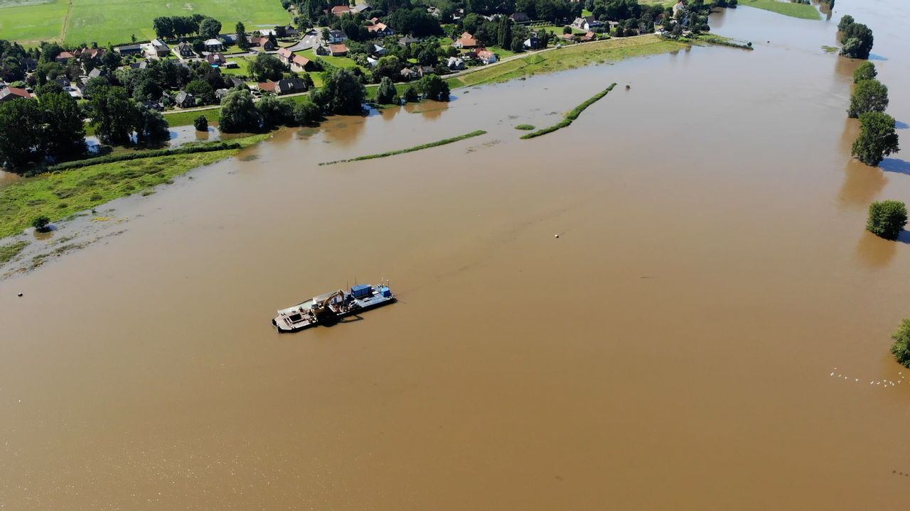 Dankzij de Maaswerken van na 1995 houden we het nu droog in Brabant