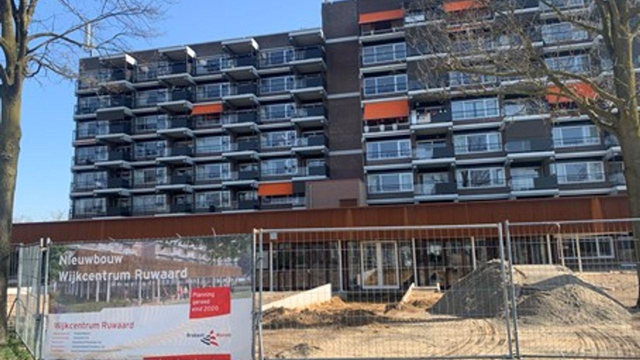 Uniek inkijkje in het nieuwe wijkcentrum 'De Haard' in de Ruwaard: 'We hopen dat we snel open kunnen'