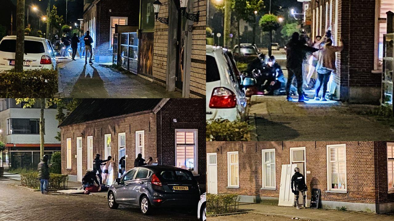 Arrestatieteam valt woning in Uden binnen
