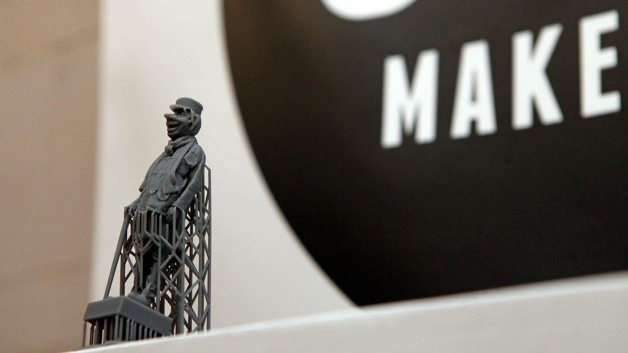 Knillis 3D gescand en geprint voor zijn 99e verjaardag